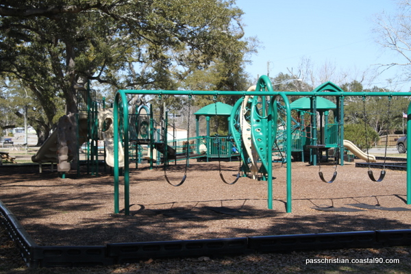 Full high quality park located in Pass Christian near Gulf of Mexico beach.