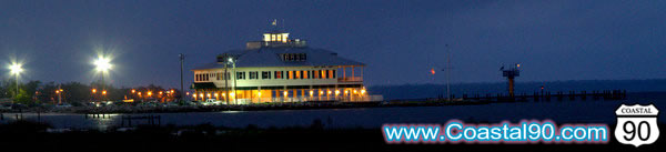 Bay-Waveland Yacht club in Bay St Louis Mississippi