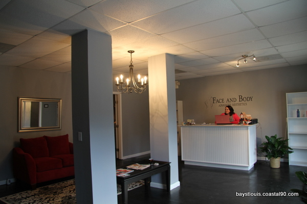Face and Body LLC located in Old Town Bay St. Louis offers waxing, facials, and chemical peels.