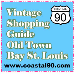 Vintage shopping guide Old Town Bay St Louis
