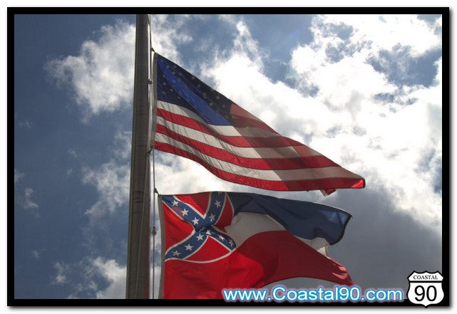 Flag's at half staff to remember and honor our fallen US and Mississippi soldiers