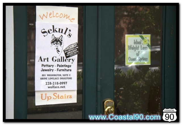 Sekul's Art Gallery in Ocean Springs, MS