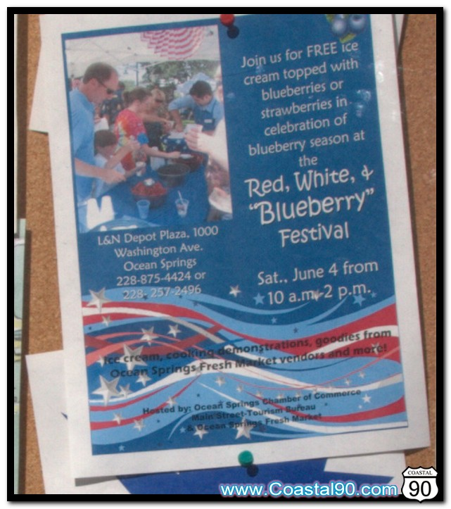 "Red, White & ""Blueberry"" Festival in Ocean Springs"