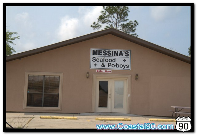 Messina's Seafood Restaurant located in Diamondhead, MS