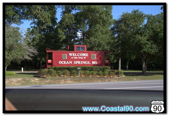 Ocean Springs Welcome Train on Coastal 90