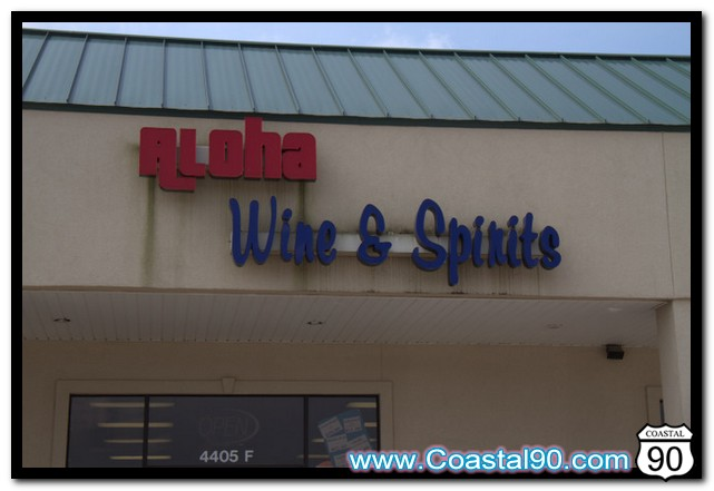Aloha Wine & Spirits store located in Diamondhead, MS