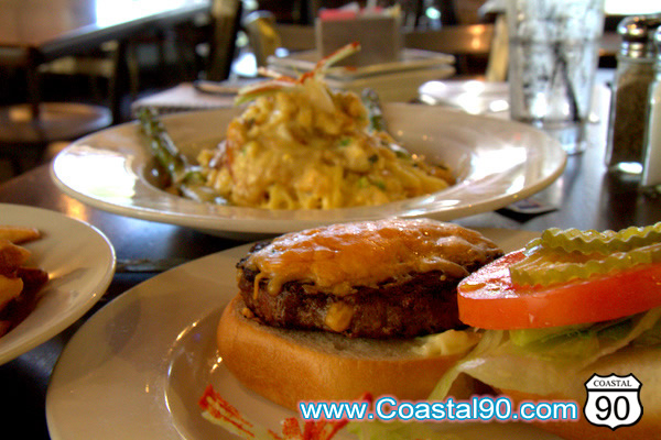 The West End Restaurant In Waveland makes great burgers and Crab Bisque