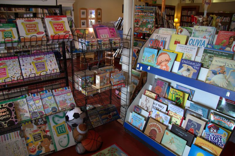 Great Children's Book section at Bay Books