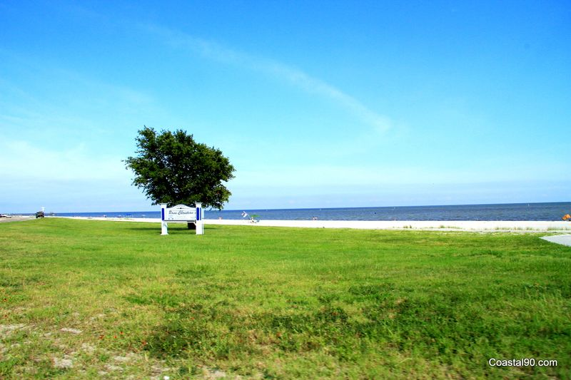 A view of the Pass Christian Beach on the Mississippi Gulf Coast
